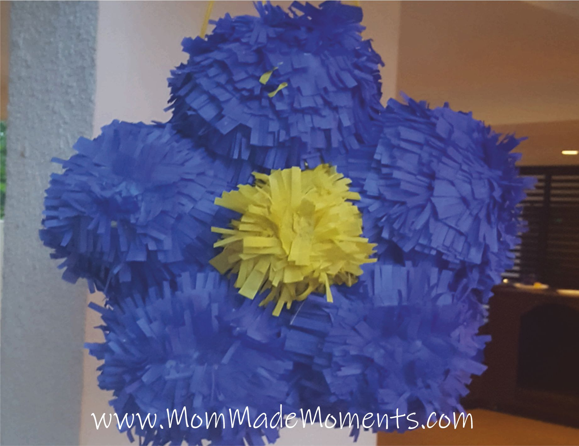 How to make a flower shaped pinata