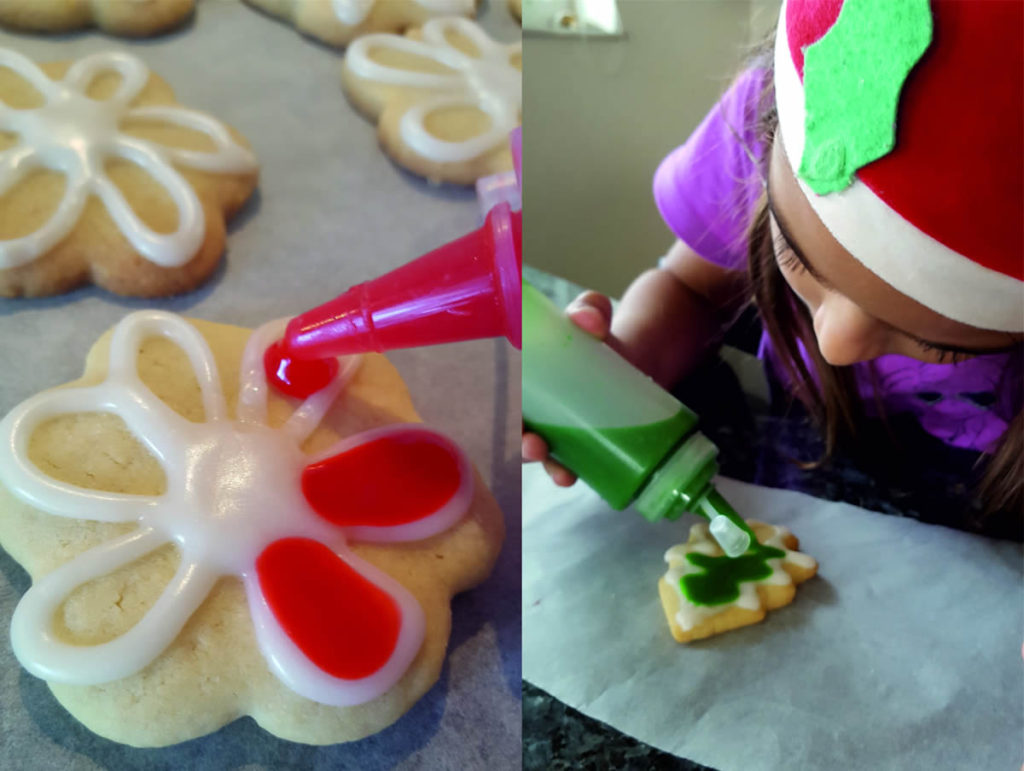 The easiest icing recipe for butter cookies