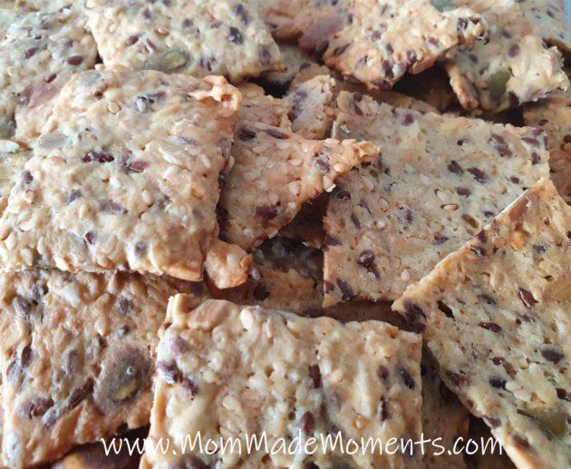 Healthy Crackers Recipe