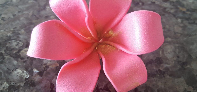 Moana Flower hair clip Frangipani Flower Hair Clip
