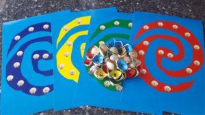 Moana Party Games Seashell Treasure Hunt