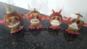 Moana Party Kakamora Coconut Pirates