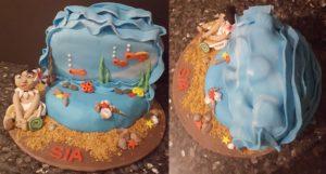 Moana Party Moana Cake Baby Moana Fondant