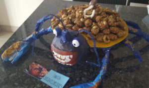 Moana Party Tamatoa Crab Best Out of Waste project