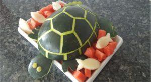 Moana Party Watermelon Turtle