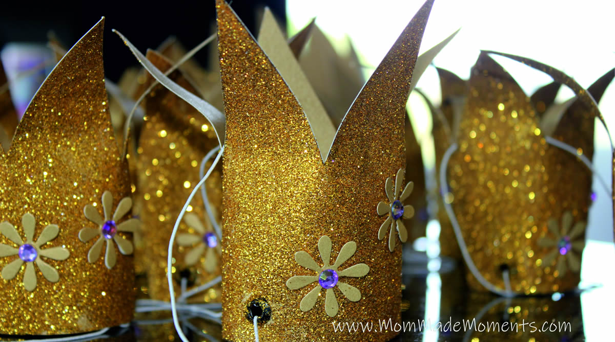 How to make a sparkly princess crown
