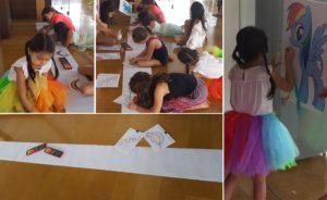 rainbow party ideas -rainbow games and activities