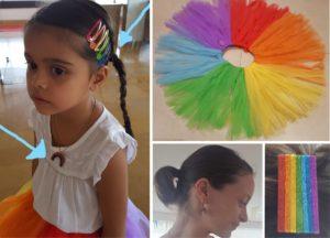rainbow party ideas -rainbow costume