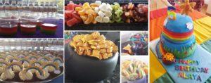 rainbow party ideas -rainbow party food ideas