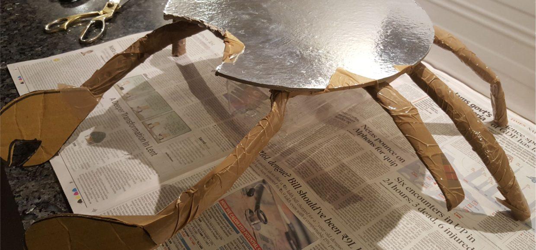 How to make DIY Tamatoa crab from Moana 2