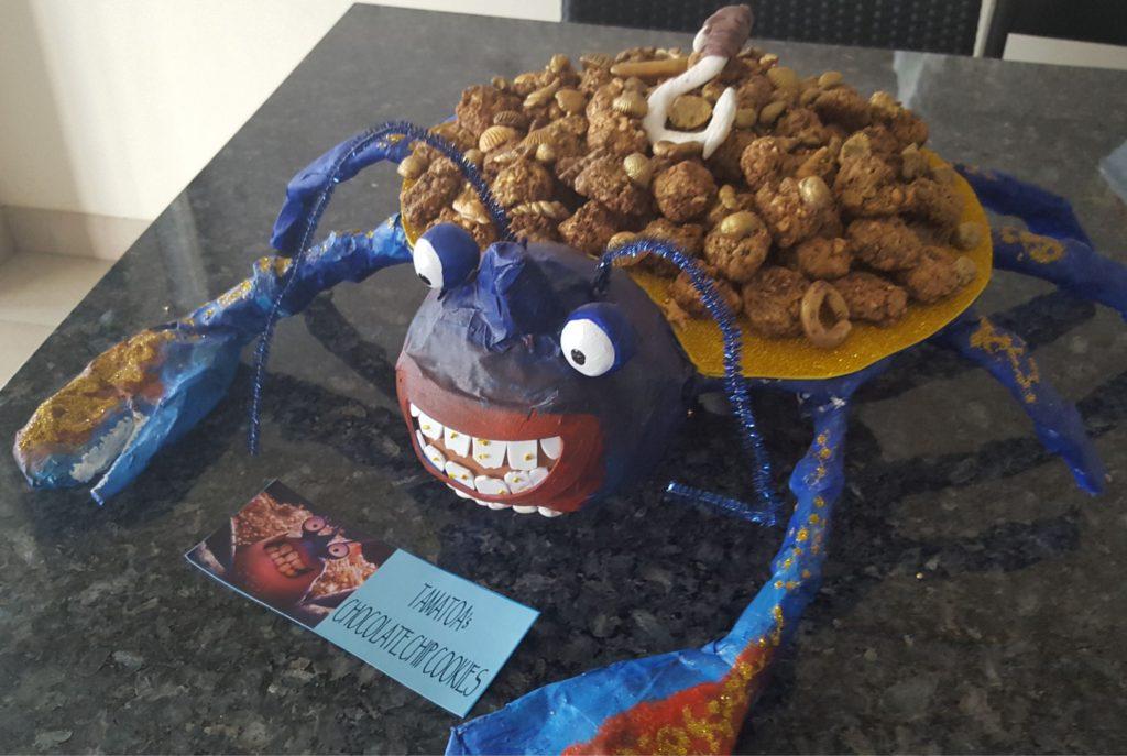 How to make Tamatoa the crab from Moana