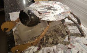 How to make DIY Tamatoa crab from Moana 1