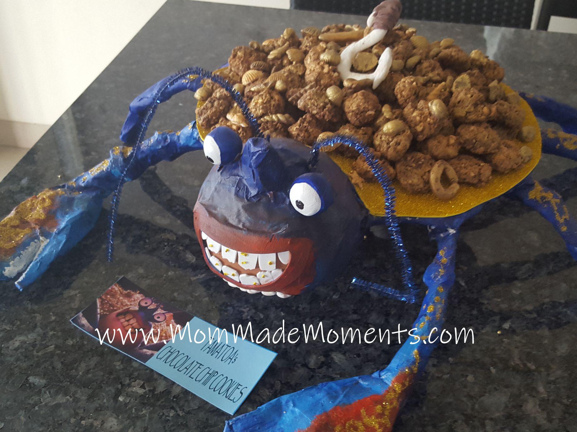 How to make DIY Tamatoa crab from Moana