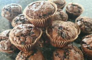The best double chocolate muffins for kids