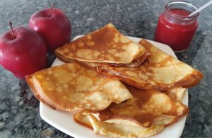 Easy Crepes Pancake recipe for kids