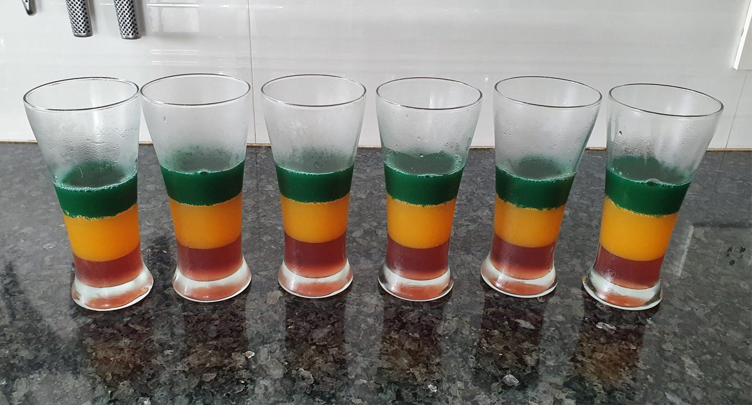 Rainbow Jelly Homemade Jelly