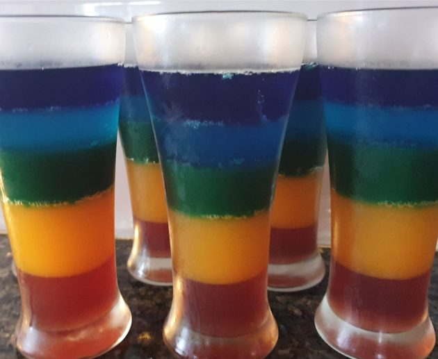 Rainbow Jelly Homemade Jelly