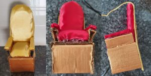 Best out of waste Barbie princess throne