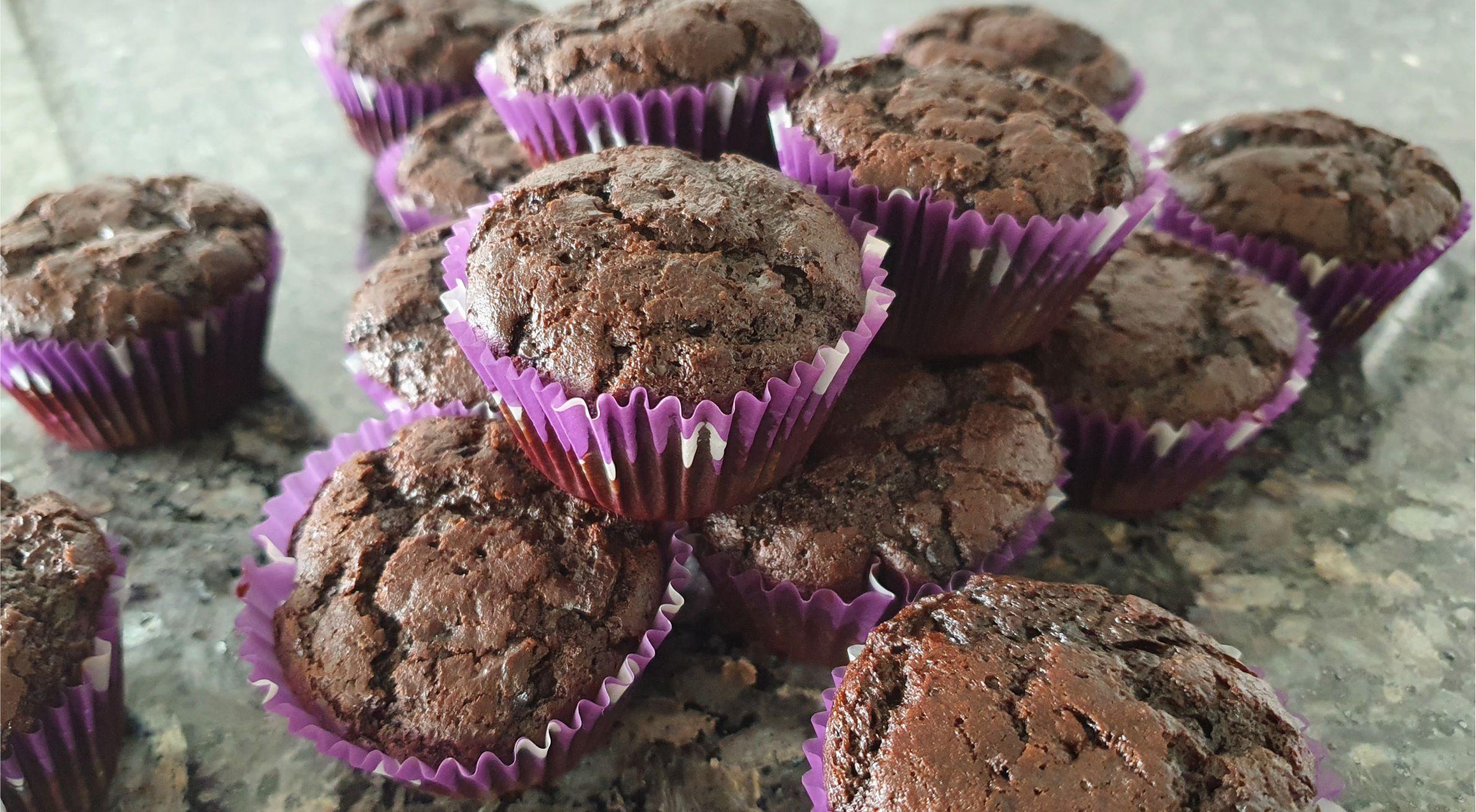 Vegan Chocolate Cupcakes with Vegan icing