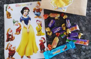 snow white party birthday return present
