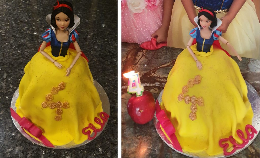 snow white party birthday snow white cake