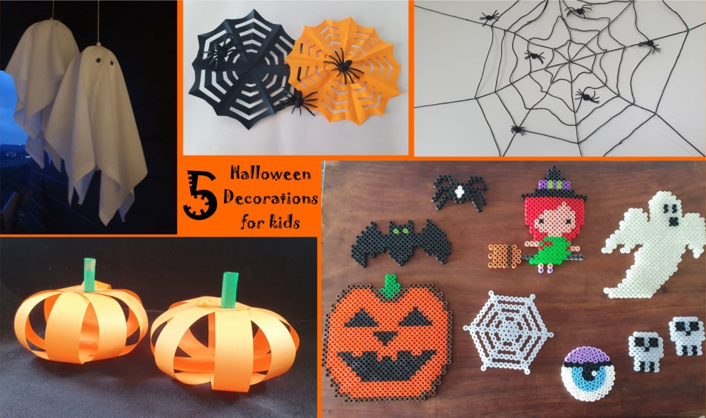 5 Halloween decorations for kids