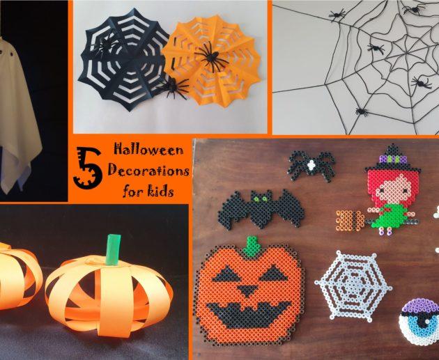 5 Halloween decorations for kids spider cookies