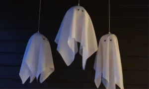 Balloon Ghost easy simple decoration for halloween