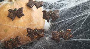 Bat Cookies Healthy and Easy Halloween Food