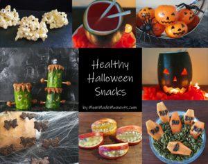 Healthy Halloween Snacks MomMadeMoments