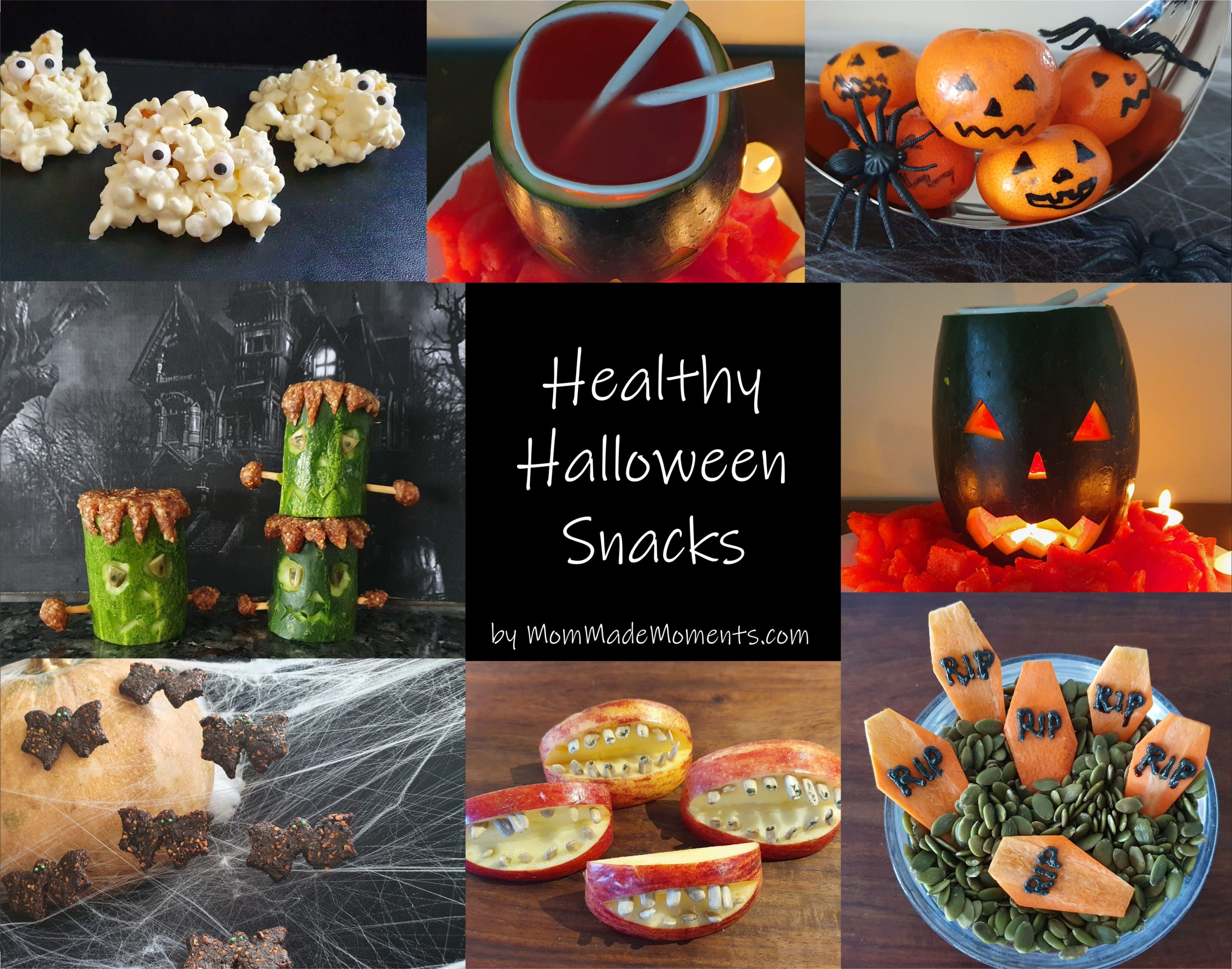 Healthy Halloween Snacks MomMadeMoments