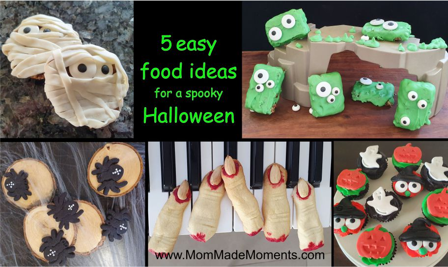 Severed Finger Biscuits and 4 other Halloween snack ideas