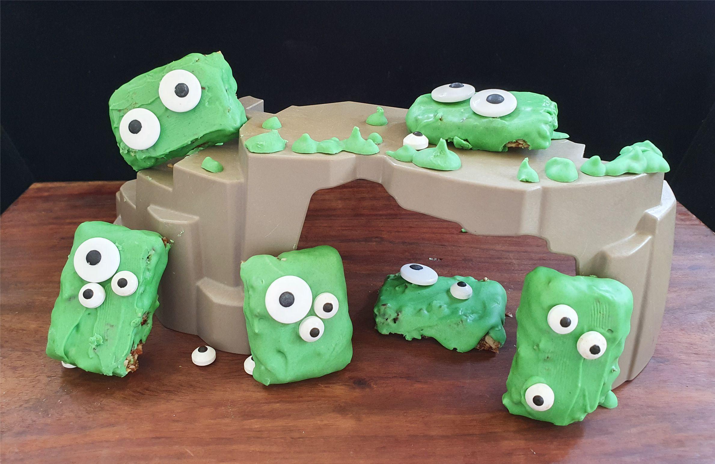 scary monster bars for halloween