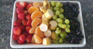 DIY Unicorn party food ideas rainbow fruits