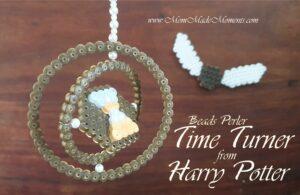 Hama Beads Perler Time Turner Harry Potter