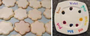 Party activity that you can eat paint on cookies MomMadeMoments