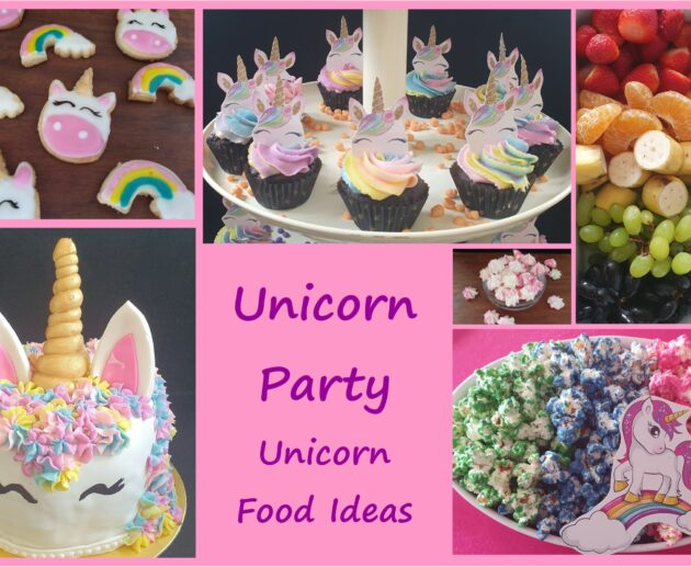 Unicorn Party food ideas MomMadeMoments