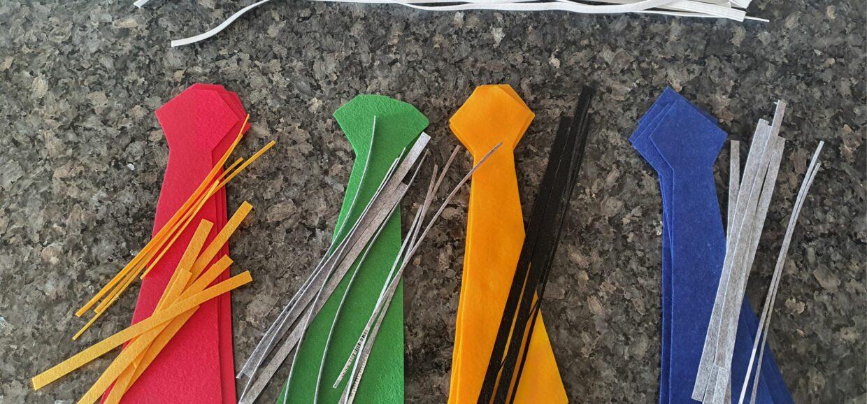 Harry Potter Felt Tie DIY