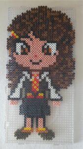 Harry Potter Perler Beads Hermione Granger