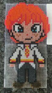 Harry Potter Perler Beads Ron Weasley