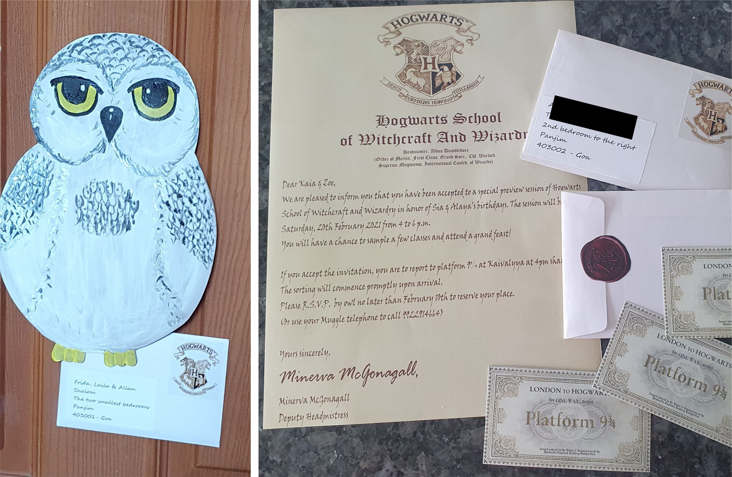 The ultimate Harry Potter Party Invitation Send your invitation by owl MomMadeMoments