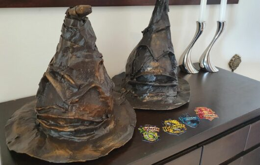 DIY Sorting hat -a best out of waste project. Mommademoments.com