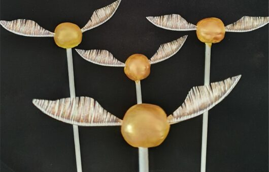 Cake Pops Golden Snitches Harry Potter Party Food