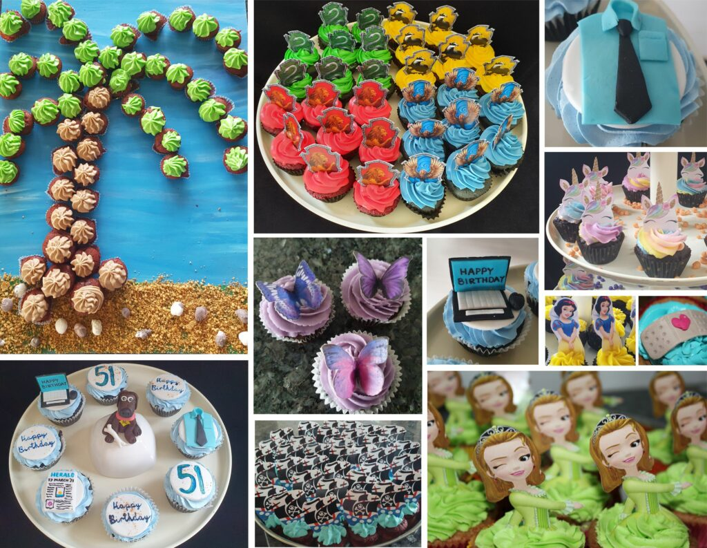Customized cupcakes to order in Panjim Goa