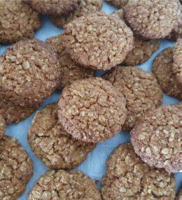 Oatmeal, Honey & Coconut Cookies