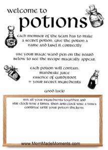 potions game slime recipe