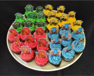 Hogwarts House Cupcakes Gryffindor Ravenclaw Hufflepuff Slytherin