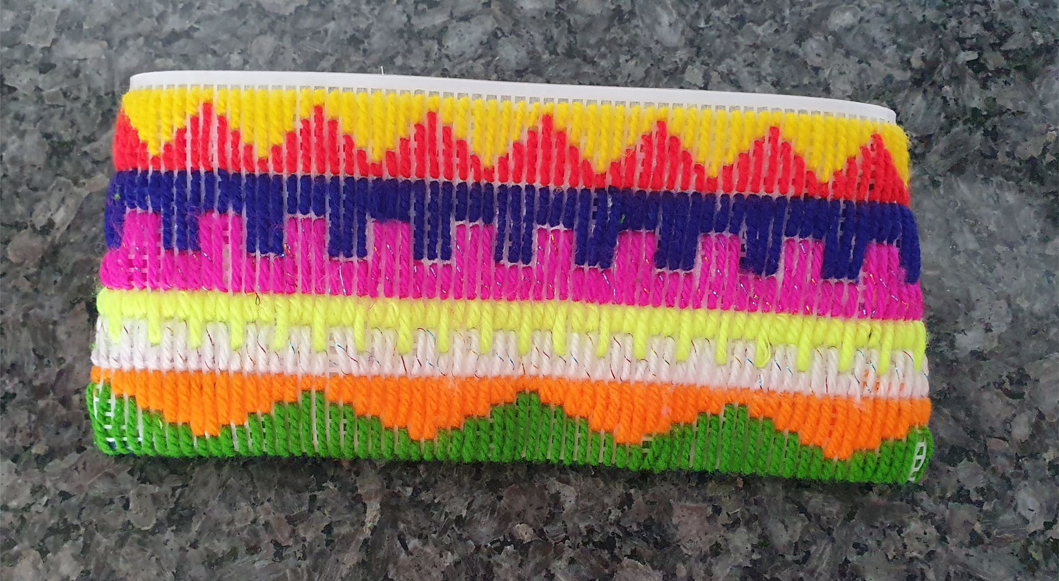 Hand Embroidered Pencil Case for Kids
