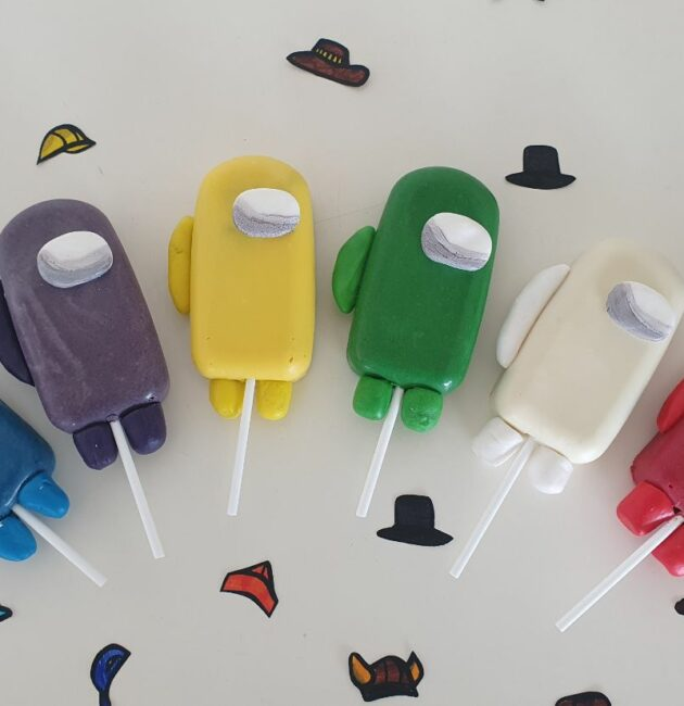 Among Us Cakesicles -how to make them