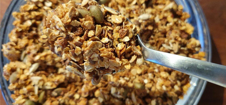 Recipe for Homemade Healthy Granola